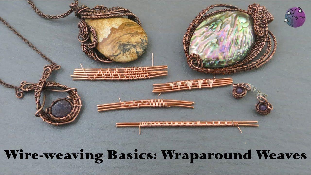 Wire-weaving Basics: Wraparound Weaves | making jewelry | Pinterest ...