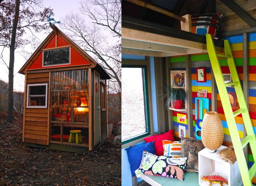 8 Year Old Cub Scouts Build Their Own Tiny House Studio To Raise Funds |  Raise Funds, Tiny Houses And Green Building