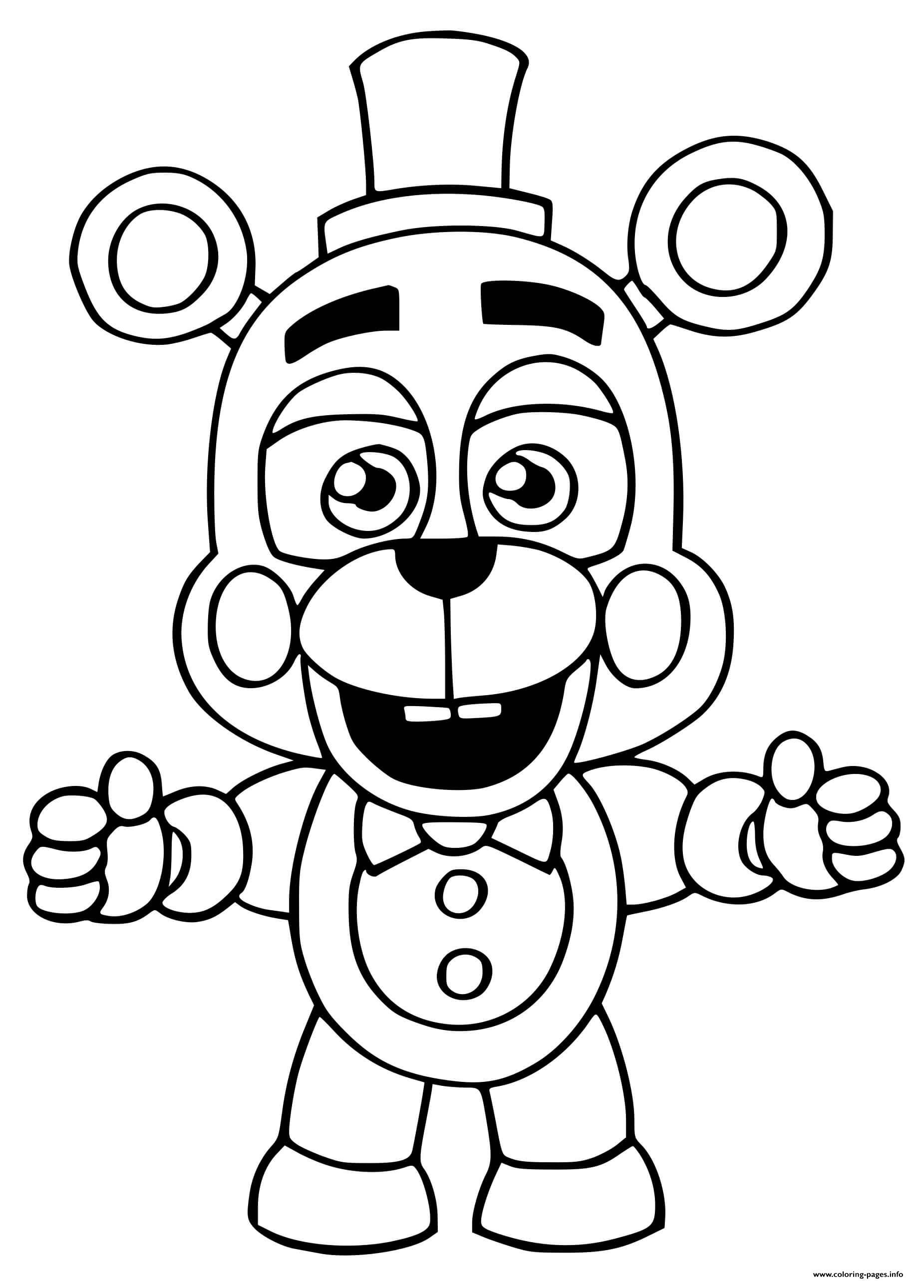 Print Helpy coloring pages in 21  Monster coloring pages, Fnaf
