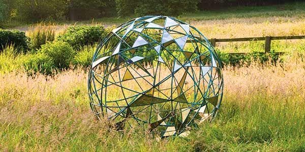 Matrix Metal Garden Spheres