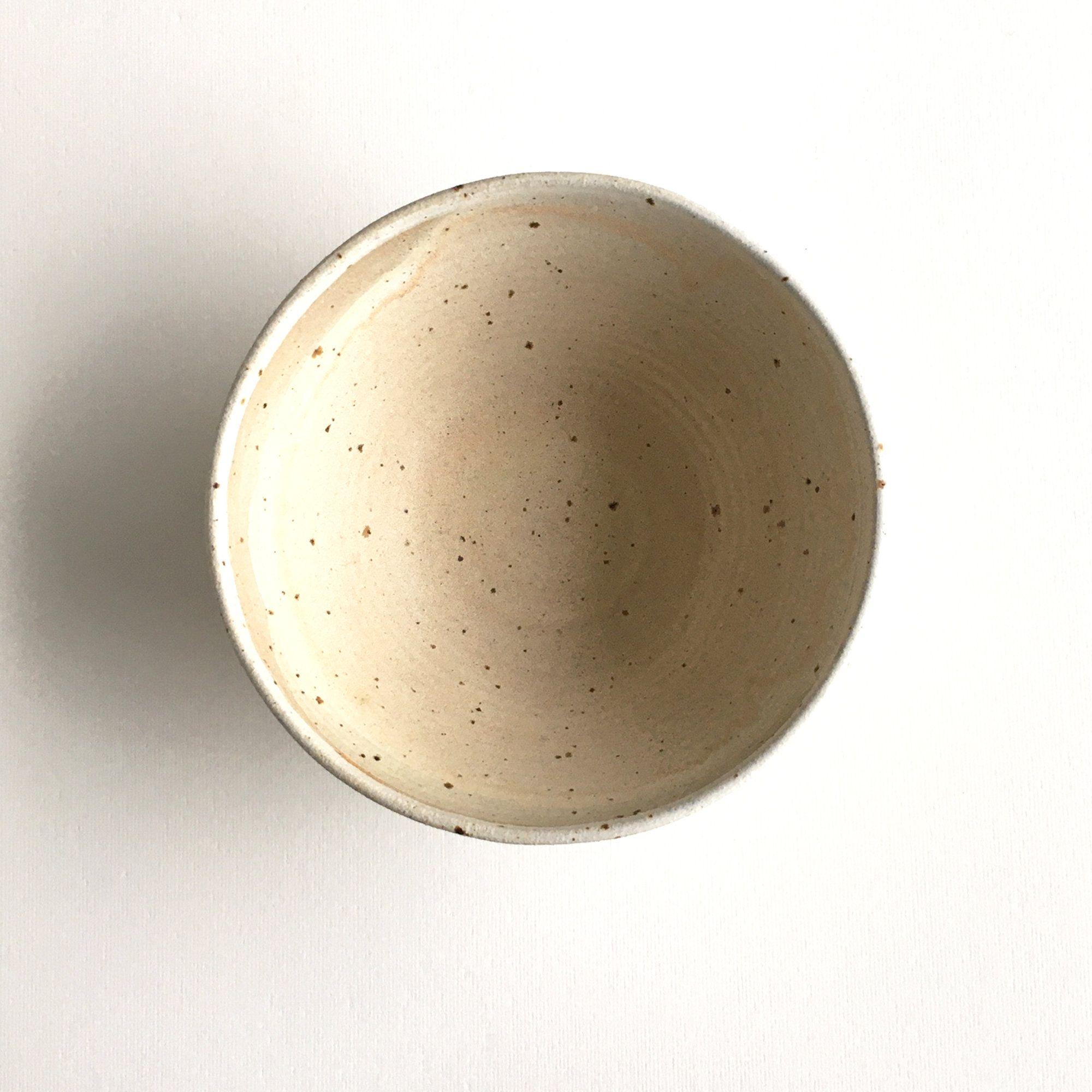 Farmhouse style bowl, Ivory Bowl nr. 2, Gift for her, Tapas Handmade pale blush nude ceramics, Breakfast bowl Hygge Polli Pots, Scandinavian