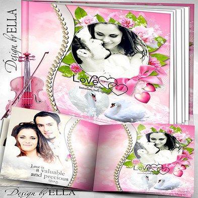 free wedding photo album psd template and wedding dvd cover