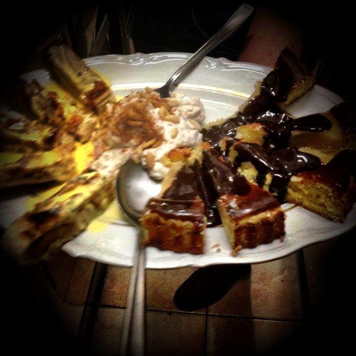 Tris di dolci  http://www.ristorantetrere.com/  #food #Viterbo #roma #italia #tuscia #trere #risto #lunch #dinner