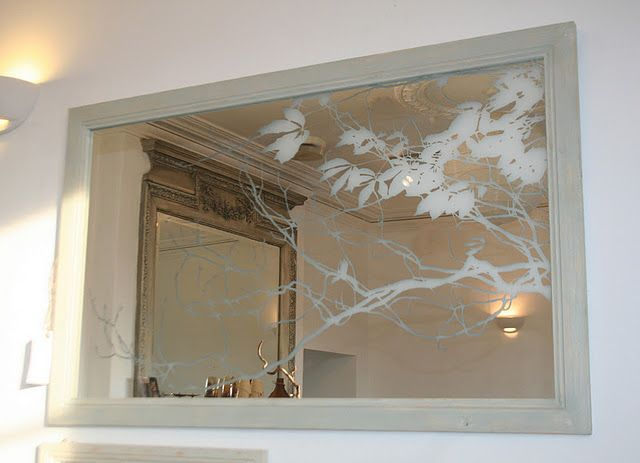 Nature Inspires Design Trees Woods Forests Etched Mirror Mirror Engraving Mirror Designs