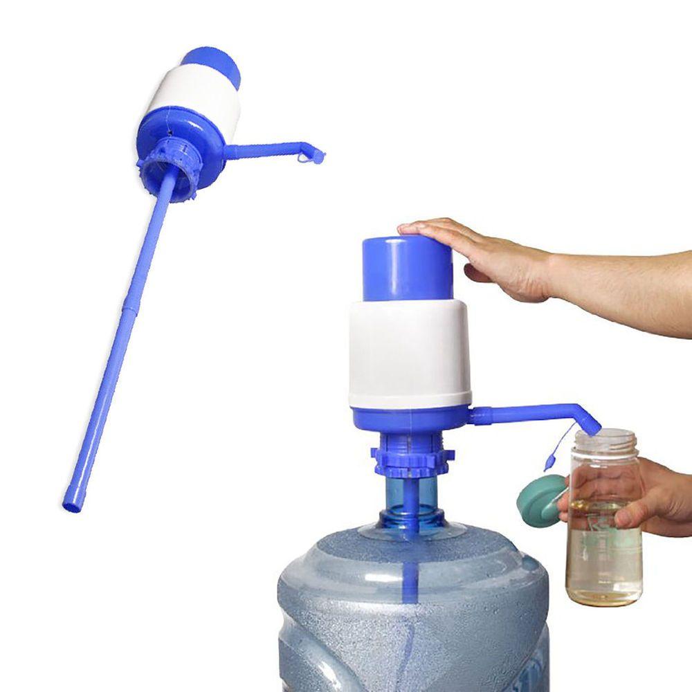 Red Black Water Bottle Hand Pump Dispenser For 3 /& 5 Gallon Bottles Portable New
