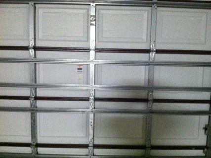 Our New Hurricane Proof Garage Door Steel And Steel Reinforced