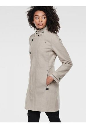 Dames jassen G Star Minor Wool Slim Coat Kleding, Jassen