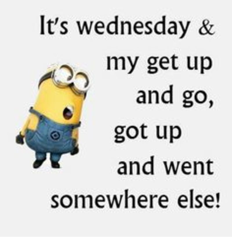 Sayings Quotes Hump Day Wednesday Blessings 25292 Funny Wednesday Quotes Wednesday Quotes Funny Minion Quotes