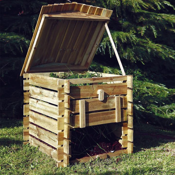 Beehive compost bin a decent looking compost bin for Hive container homes