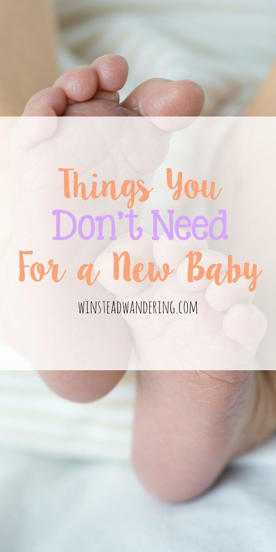 5 things you don't need for a new baby | New baby products ...