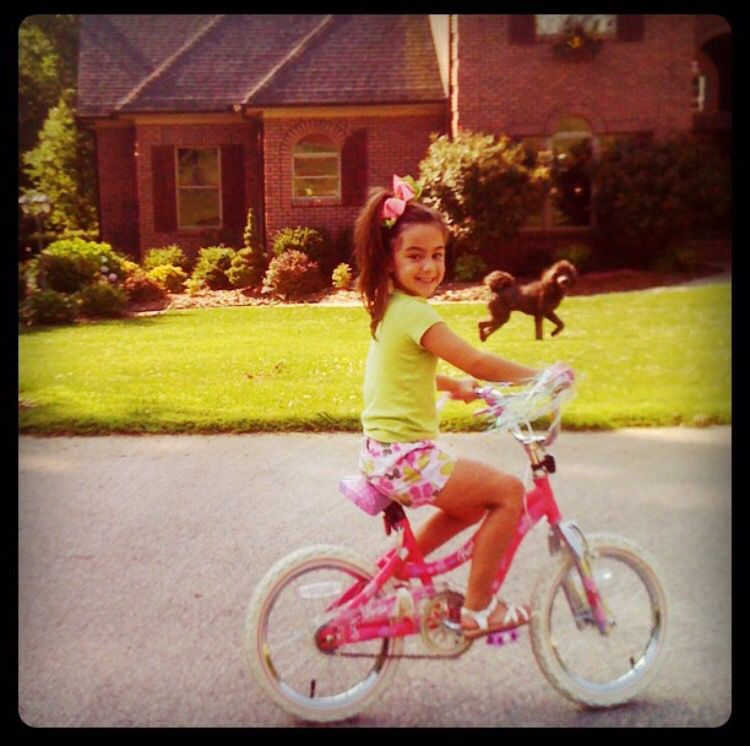 The Day Lana Learned To Ride Her Bike Without Training Wheels