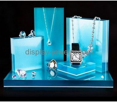 Customized acrylic display rack necklace display stands wholesale