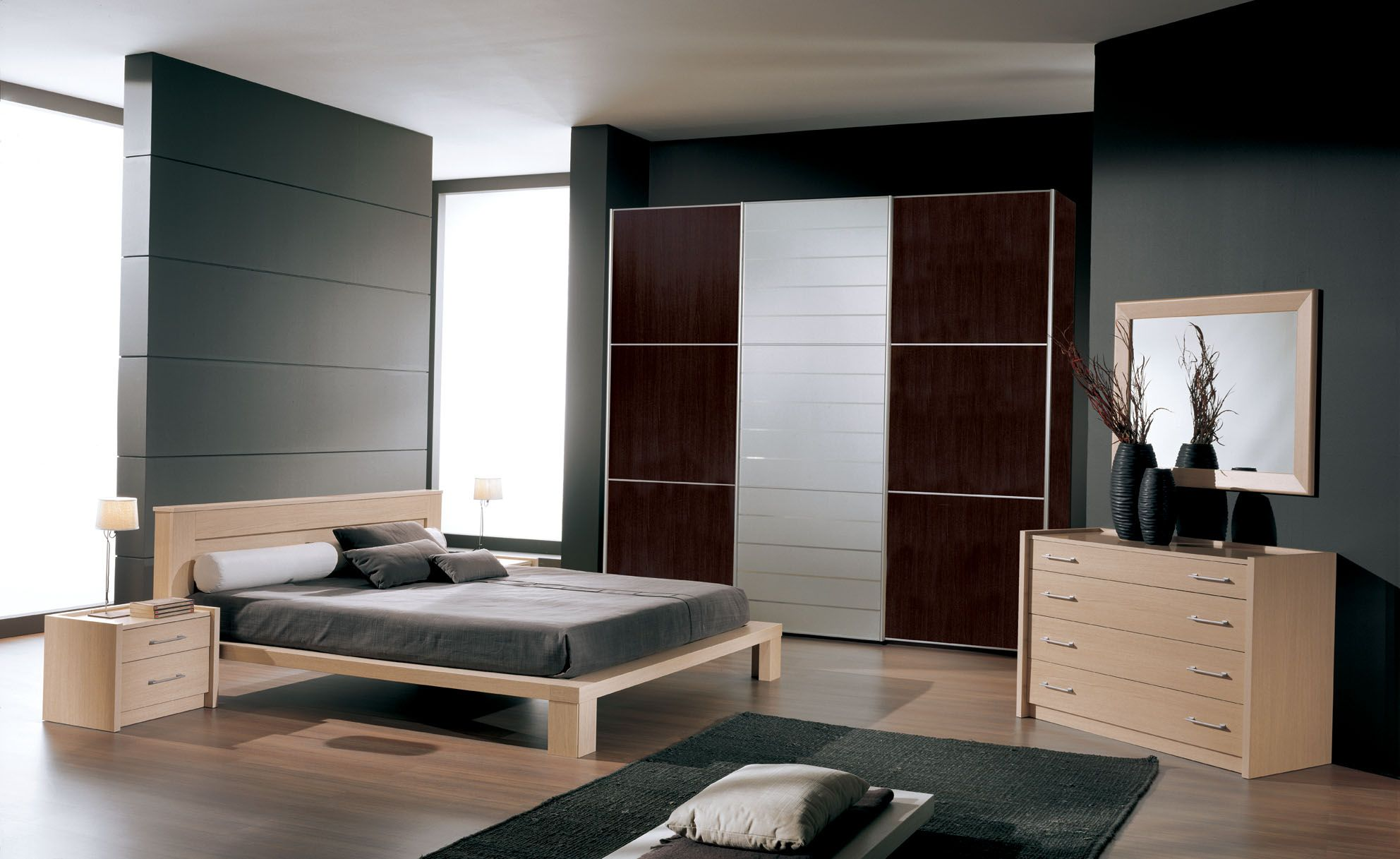 Bedroom Small Modern 3d Bedroom Layout Ideas For Square Rooms With