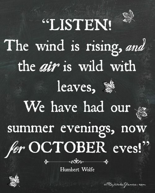 Exceptional Soul Of Simplicity. October Fall QuotesOctober ...