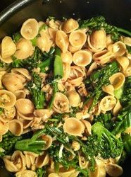 Orecchiette with Chicken Sausage and Broccoli Rabe #skinny #healthy
