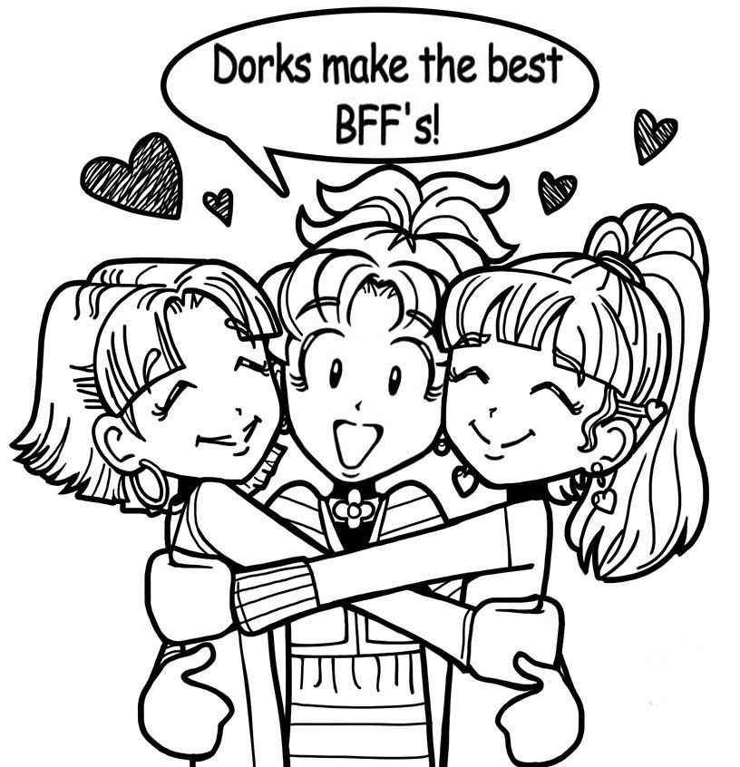 WHY DORKS MAKE THE BEST FRIENDS! Dork diaries, Dork
