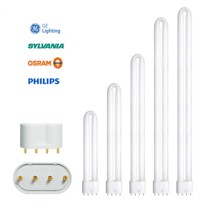 Details About Philips Ge Osram Sylvania Pl L 4pin 18w 24w 34w 40w 55w 80w Dulux Biax Lynx Dulux Sylvania Ebay