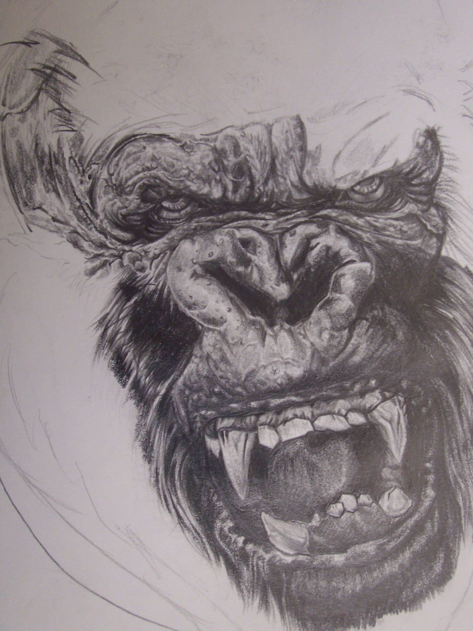 king kong king kong pinterest king kong tattoo and sketches. Black Bedroom Furniture Sets. Home Design Ideas