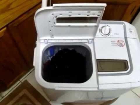 xpb36 panda portable compact washing machine with spinner