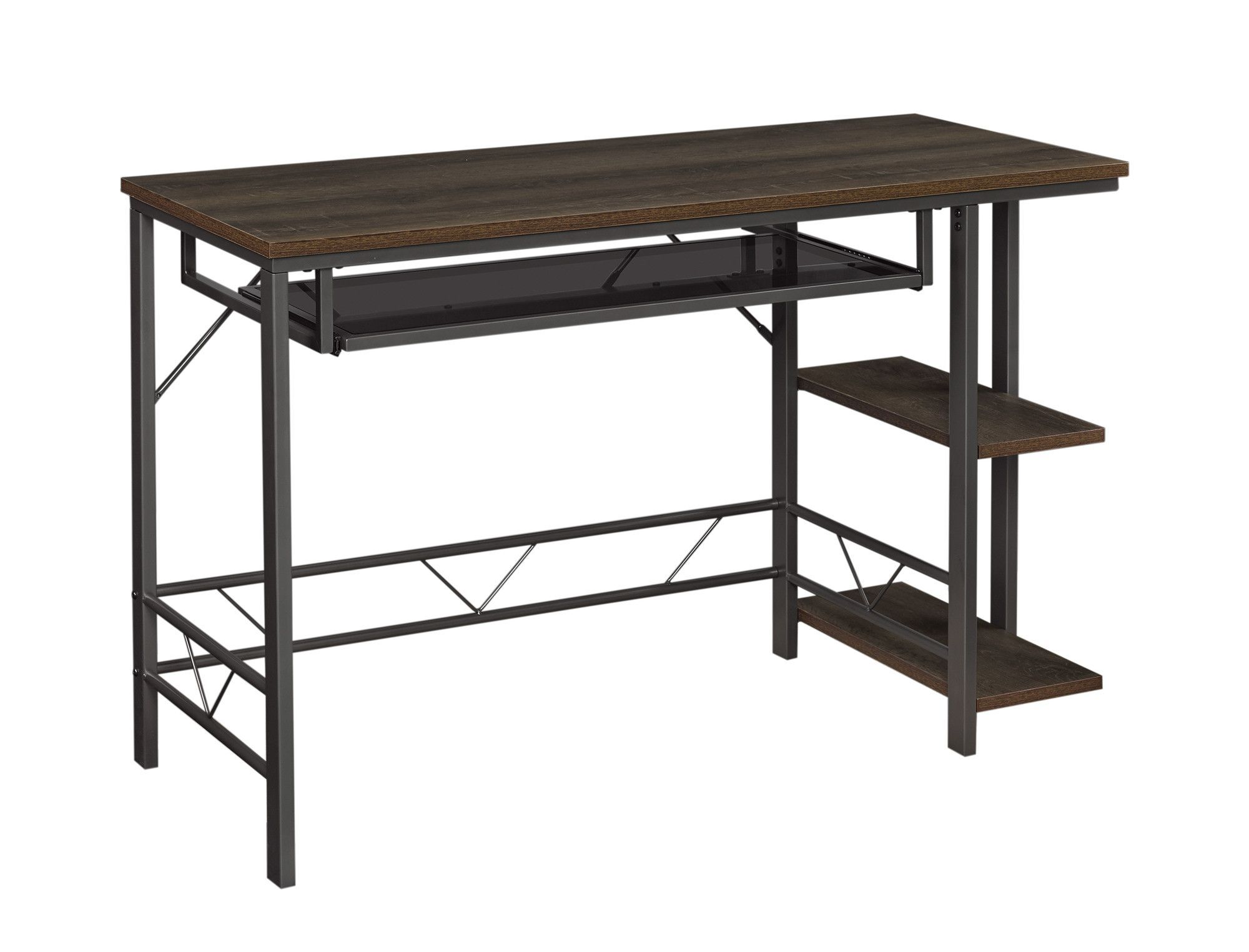 Willsboro Desk with Pull-Out Keyboard Shelf
