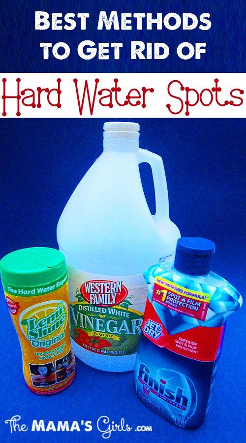 Best Methods to Get Rid of Hard Water Spots | Hard water spots ...