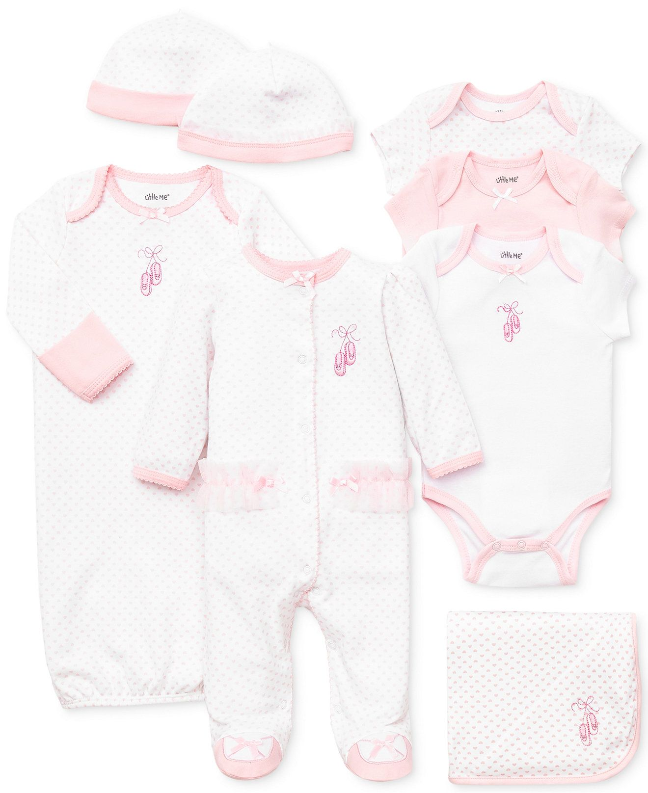 33ab17cde Little Me Baby Girls' Prima Ballerina Gift Bundle - Kids Newborn Shop -  Macy's