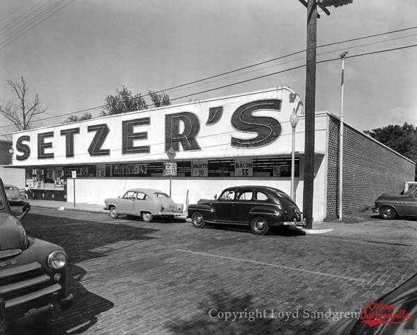 Vintage Jacksonville Photographs By Loyd Sandgren Florida