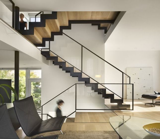10 Favorites: Wood And Steel Stairs From The Remodelista