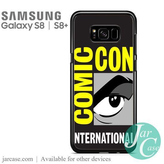 comic con logo Phone Case for Samsung Galaxy S8 & S8 Plus