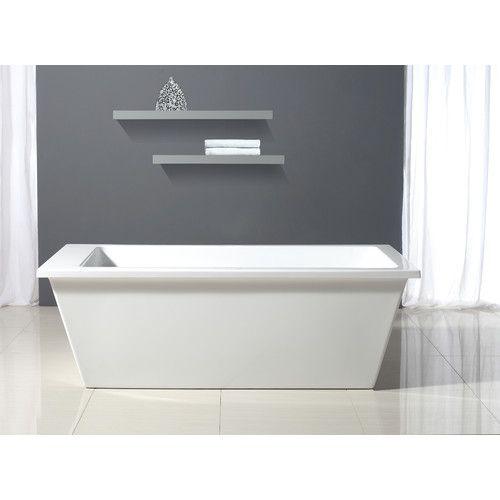 Houston 69 x 31 Freestanding Soaking Bathtub 799 Dill Pinterest