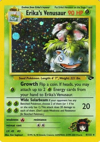Black Star Promo Venusaur HP Condition Collectible #13 Pokemon Card