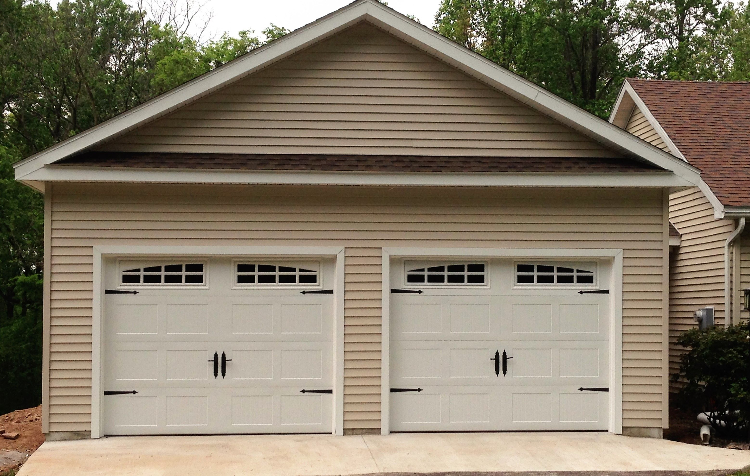 detached amish built garages car attached garage attic with or pack services