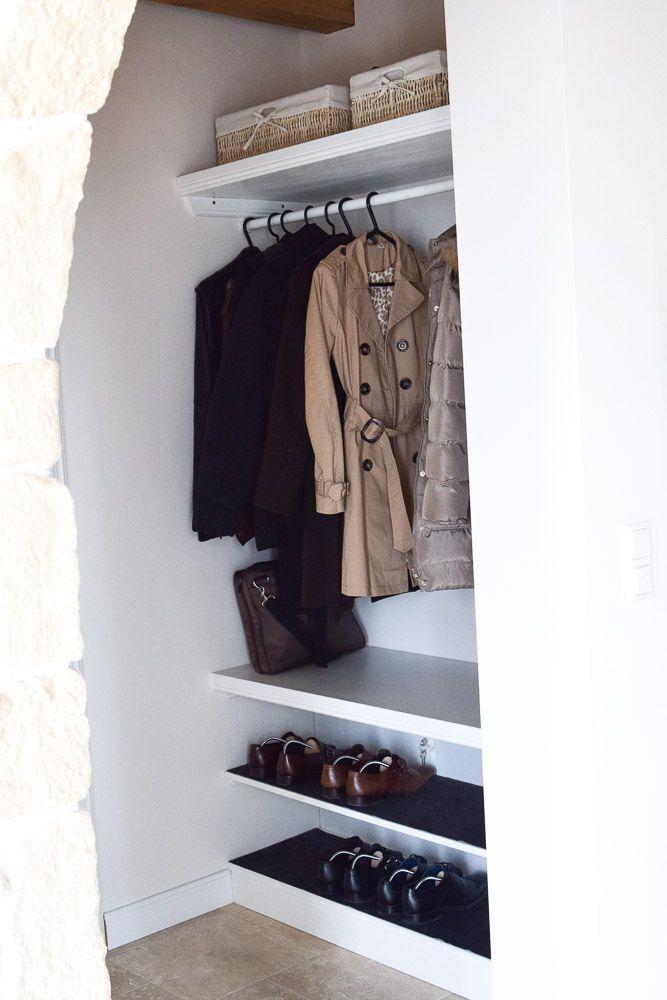 5 schritte zum erfolg garderobe mit schuhregal selber bauen flur garderobe. Black Bedroom Furniture Sets. Home Design Ideas