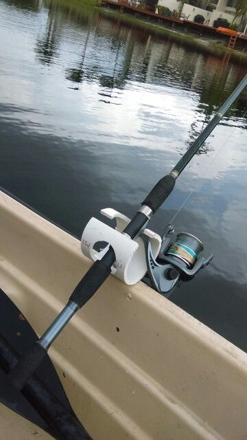 Dys Pvc Rod Holders Fishing Pinterest Fish Boating
