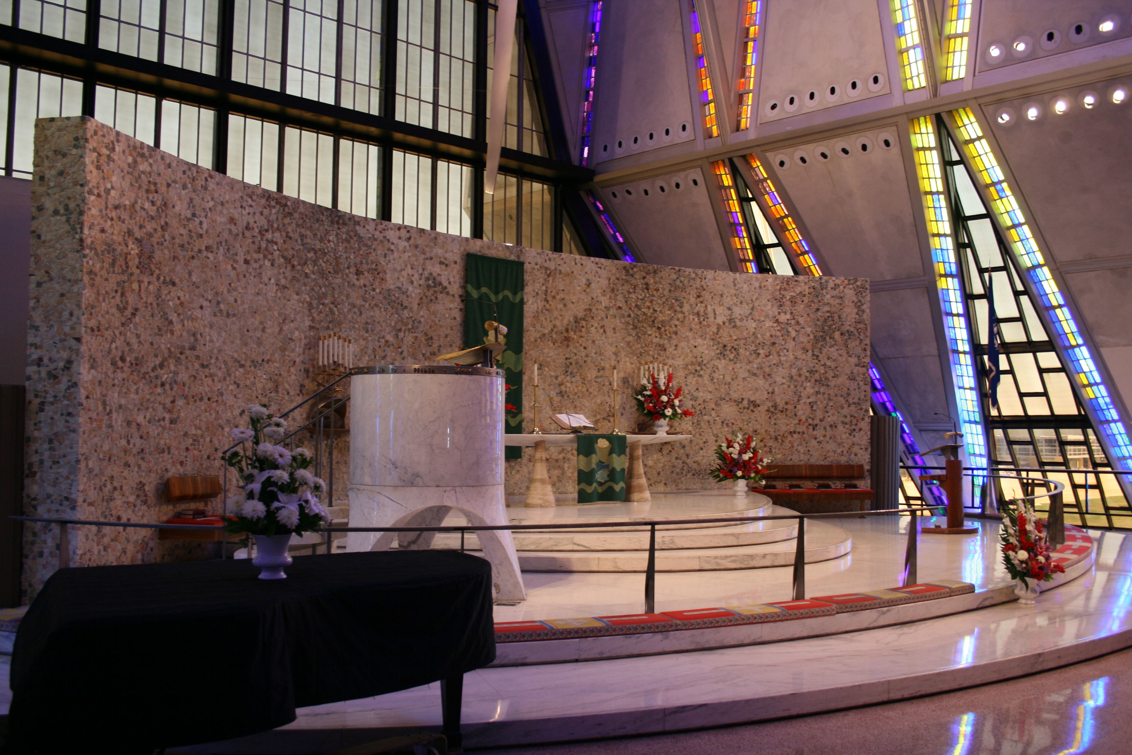 Inside the Chapel, Air Force Academy, Colorado Springs