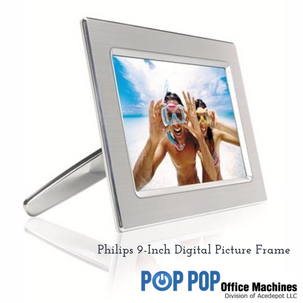 Philips 9FF2CME/37 9-Inch Digital Picture Frame Metal   Pop pop and ...