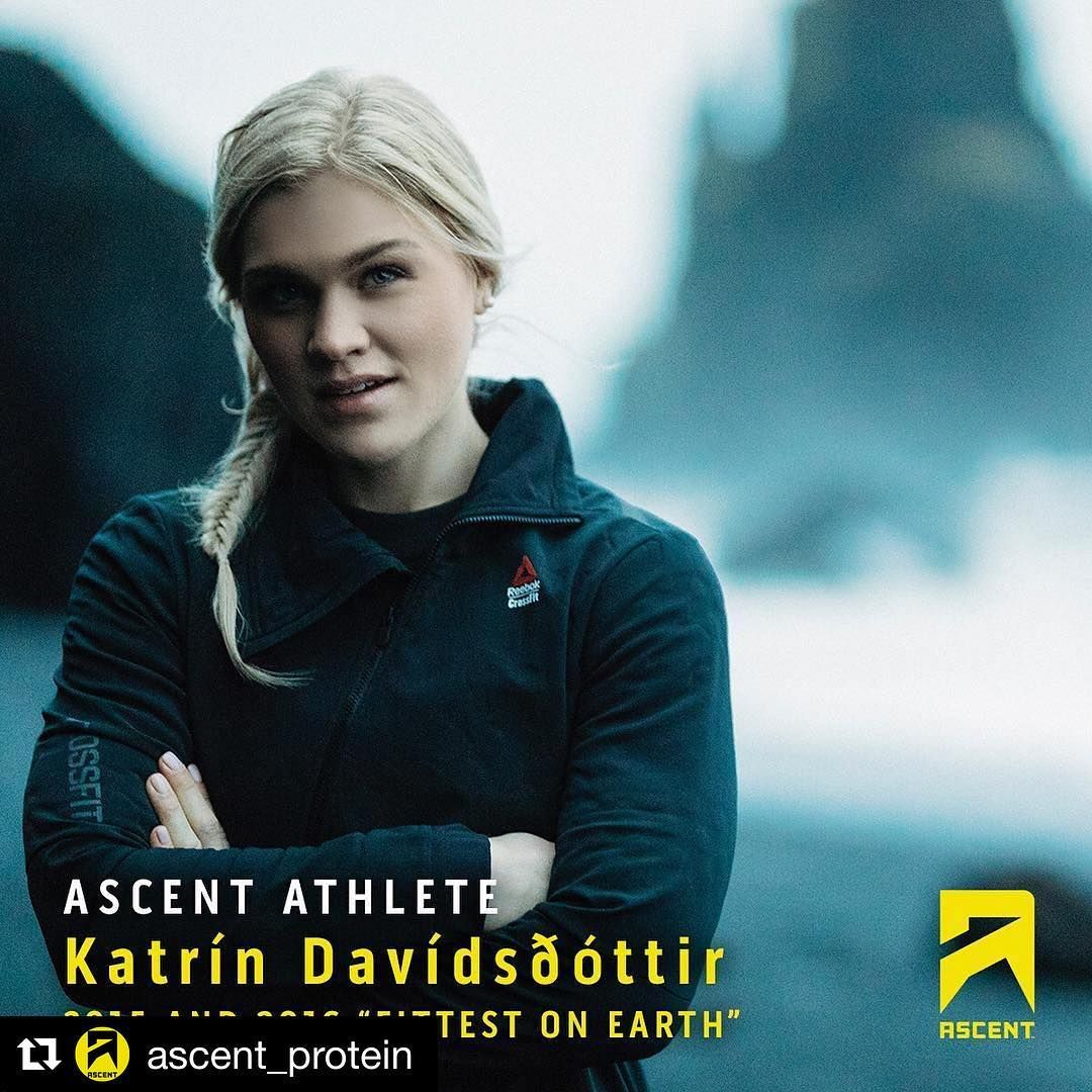 """2015 and 2016 """"Fittest Woman on Earth"""", Katrin"""