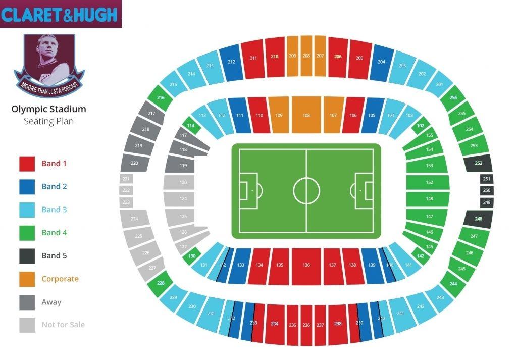 The Brilliant London Stadium Seating Plan Seating Plan How To Plan Olympic Stadium London