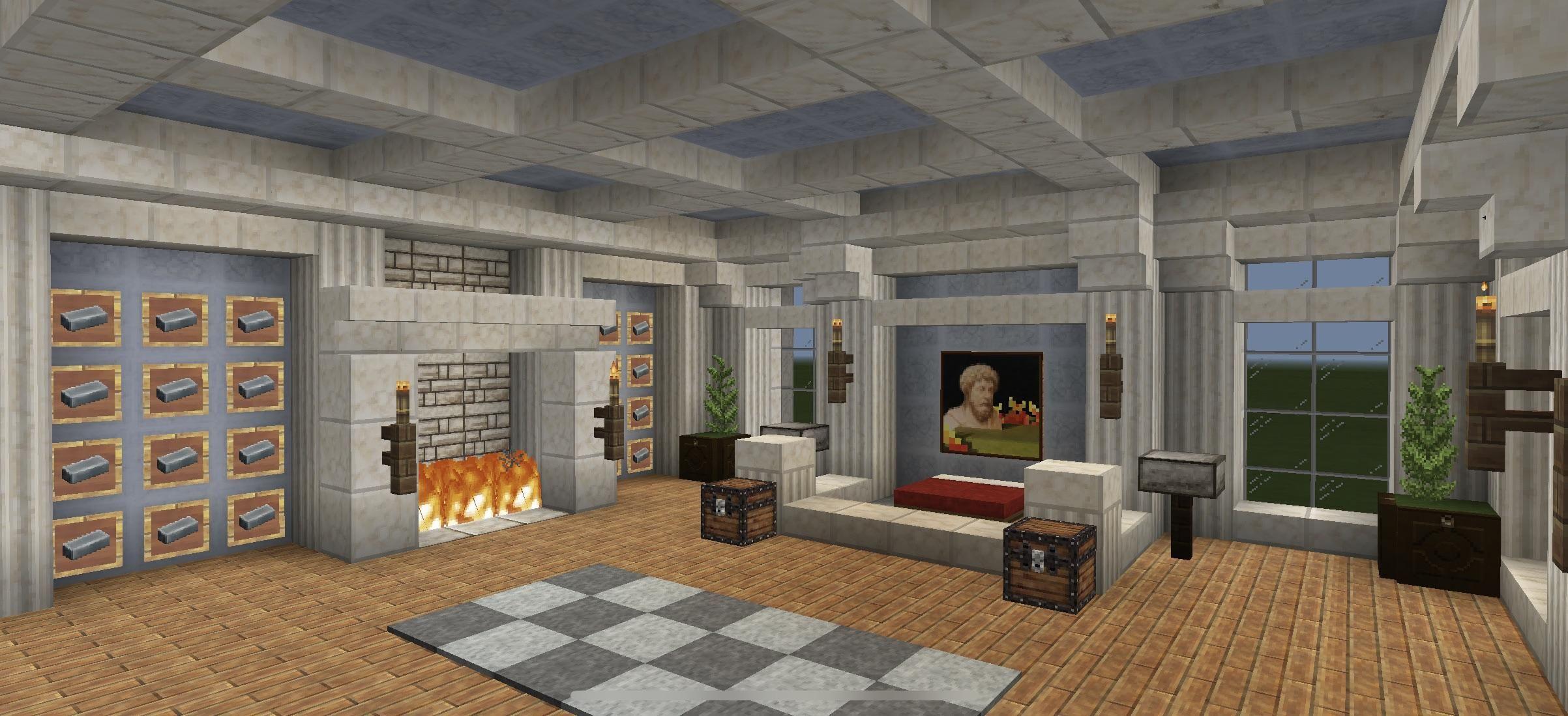 Bedroom Minecraft Minecraft House Designs Minecraft Room Minecraft Bedroom Luxury rooms in minecraft