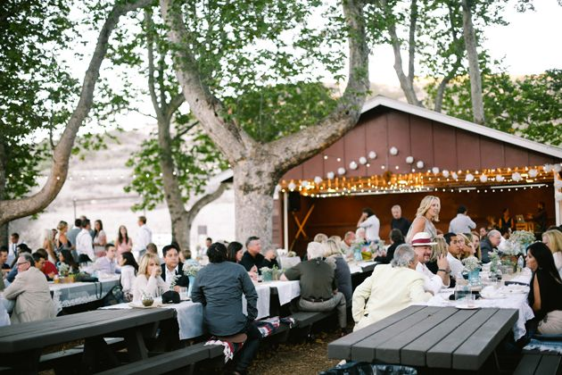 Gorgeous Outdoor Diy Wedding At Bommer Canyon In Irvine Ca Dress By Maggie Sottero Photography Lk Griffin