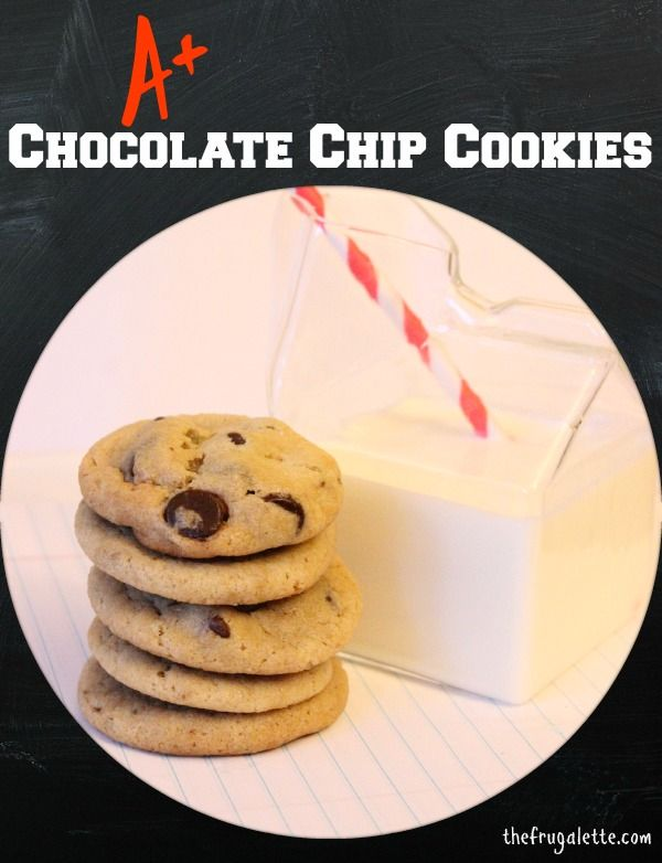 Super Easy (perfect) Chocolate Chip Cookies...