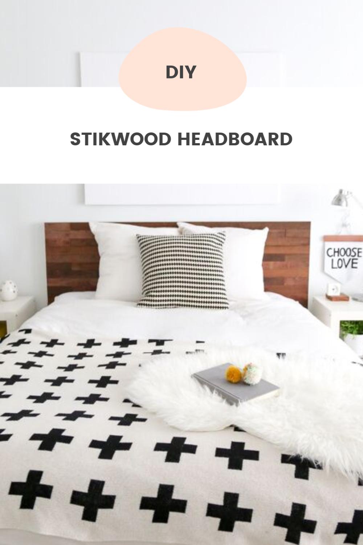 Ikea Bed Hack DIY Wooden Headboard With Stikwood Diy