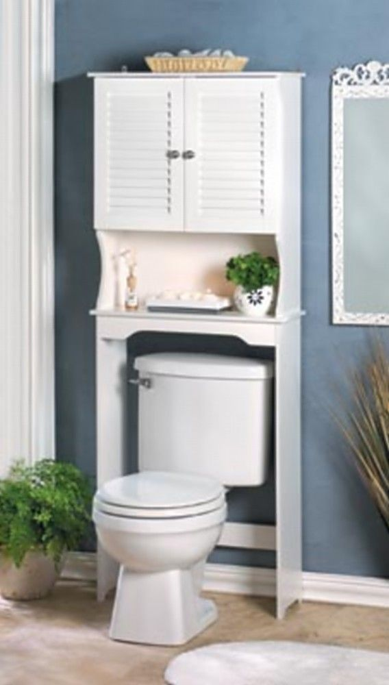 nantucket bathroom over toilet space saver - Bathroom Decorating Ideas For Over The Toilet