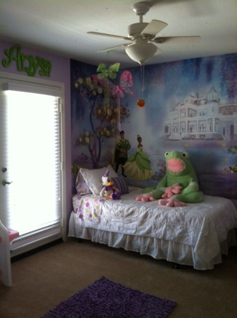 The Ultimate Princess And Frog Room Just Gorgeous Http Www Wallstickeroutlet Com Search Resul Kids Bedroom Designs
