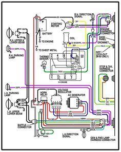 1970 Chevy C20 Wiring Diagram