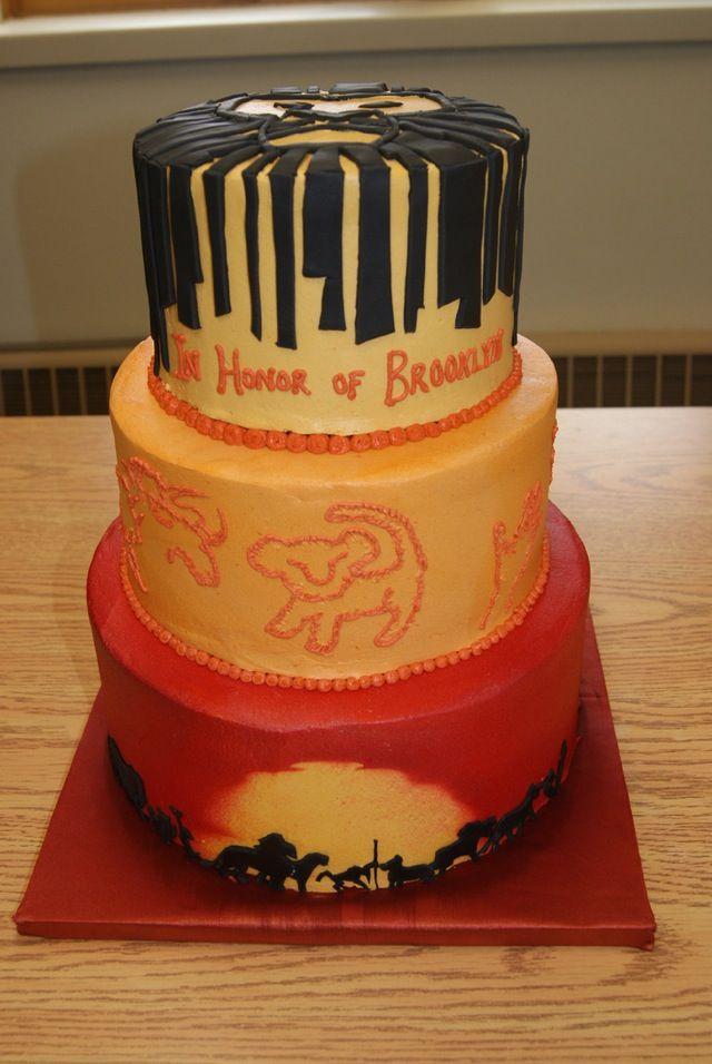 Birthday Lion King Cake The Lion King Pinterest Lion King - Lion King Wedding Cake