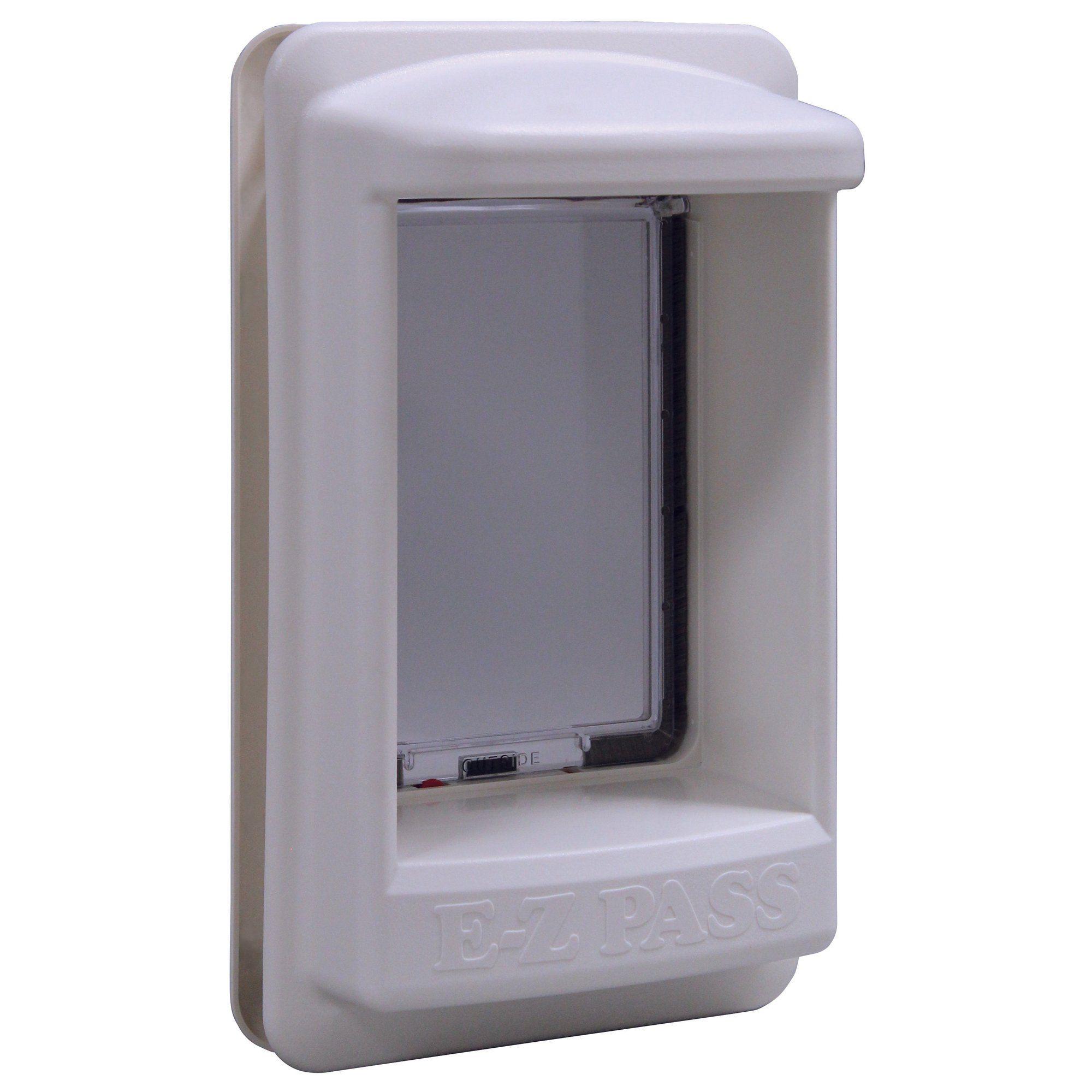 Perfect Pet EZ Pass Electronic Pet Door, in White, 9.25IN