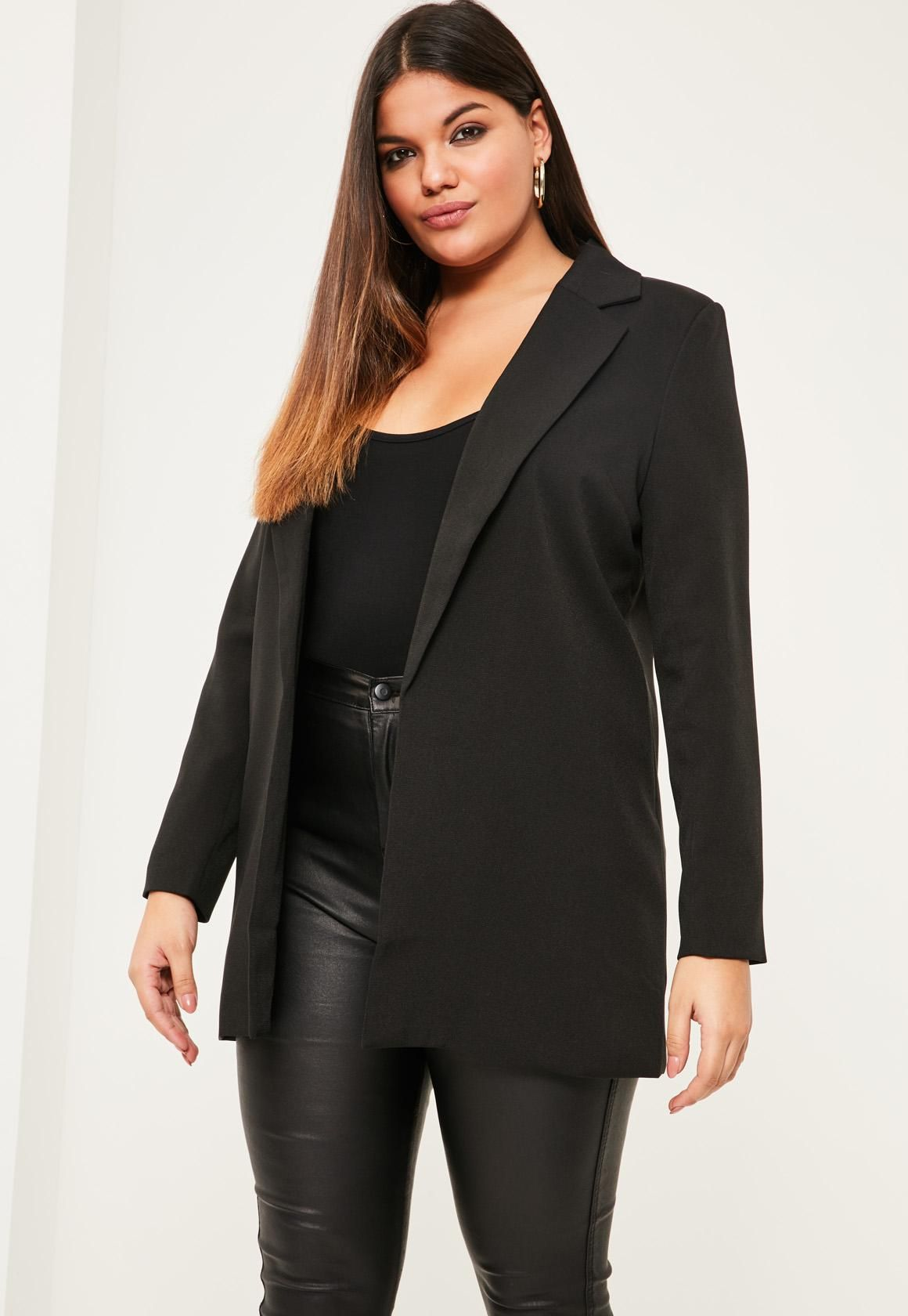 actual cool af plus size jackets | missguided, blazers and dream