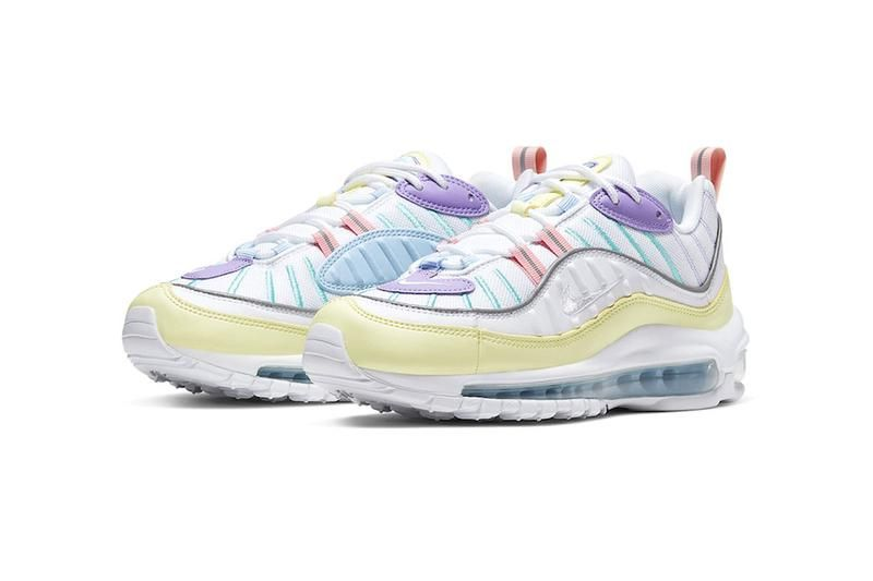 sports shoes d0bfa 7169d Nike Spruces up the Air Max 98 in Summer-Ready Pastel Tones ...