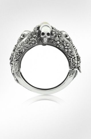2198d3b81e0 Ugo Cacciatori Jewelry & Co | FORZIERI Mens Designer Jewelry, Dainty Ring,  Memento Mori